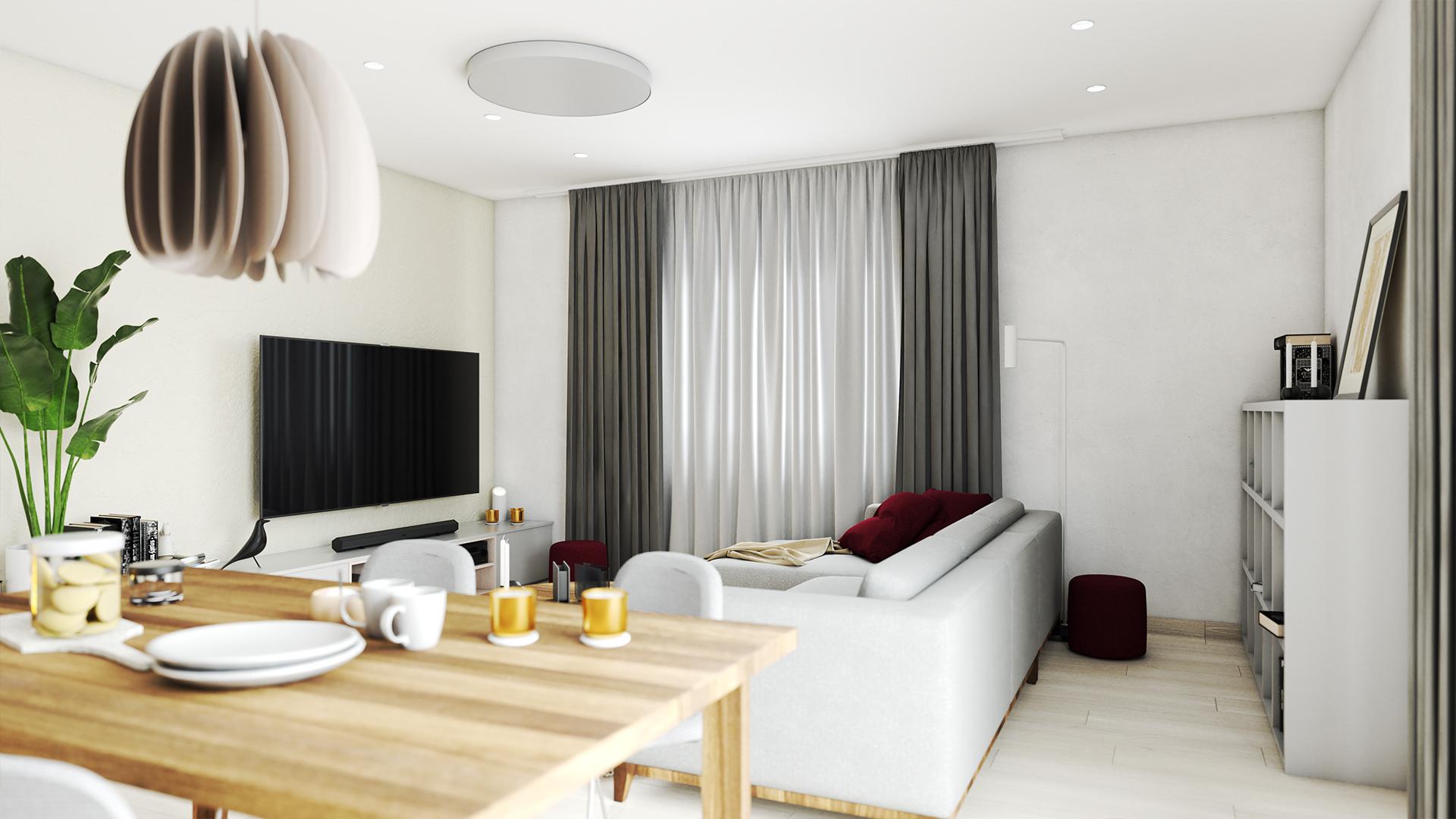 Nové bývanie s modernou jednoduchosťou